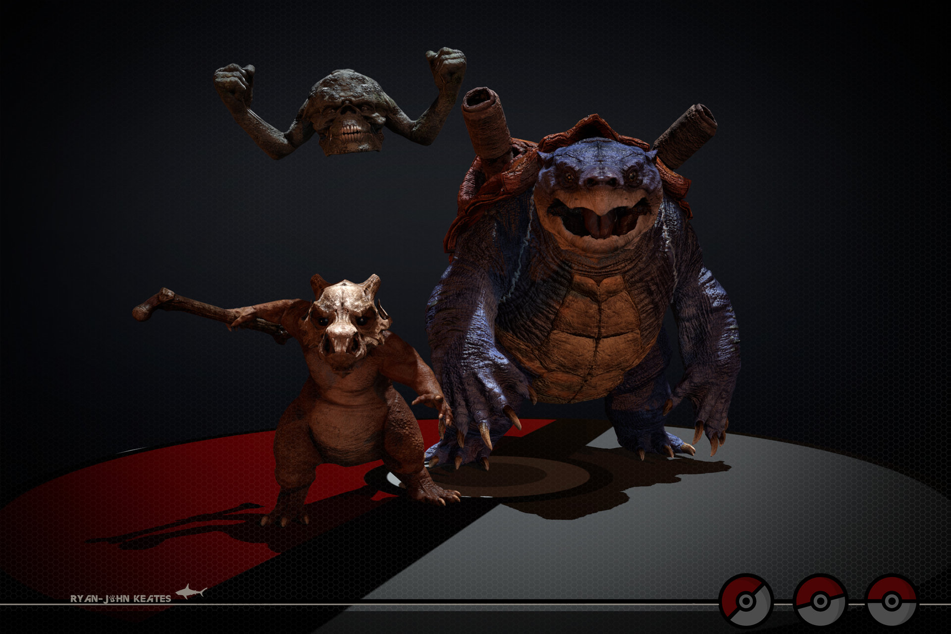 3d video game characters having some fun 8 2