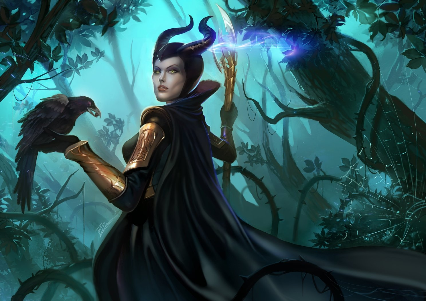 Artstation Maleficent X Loki Bramasta Aji