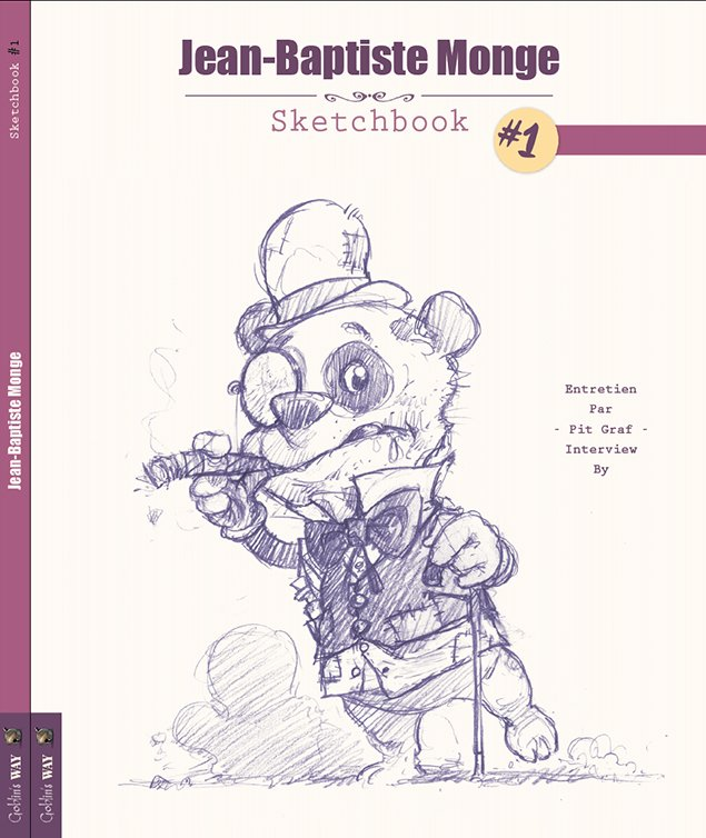 Cover Sketchbook #1 Will be released this July 2015 Pre-order it on https://www.etsy.com/ca/listing/235554113/pre-order-sketchbook-1-signed-and