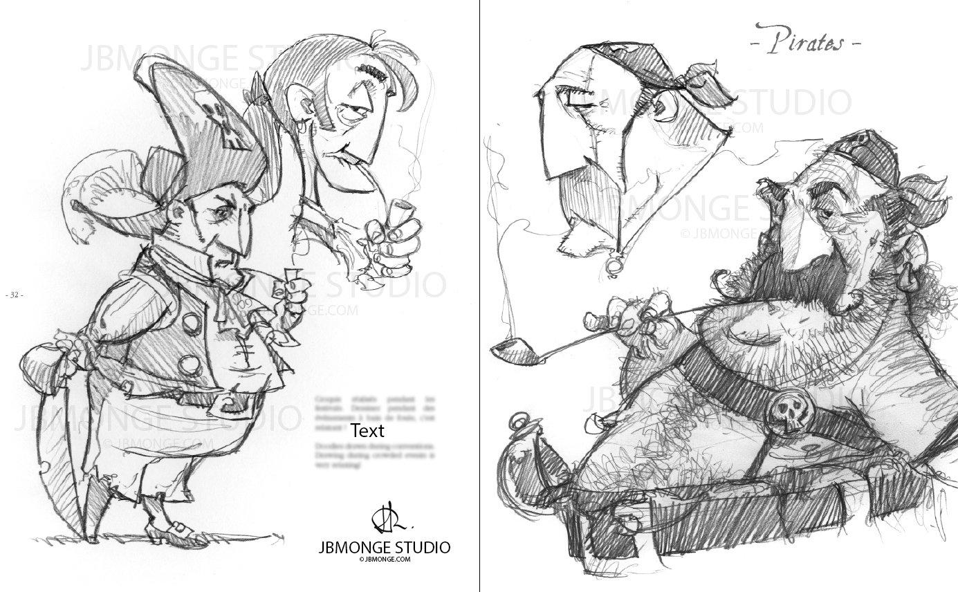 Sample2 - Sketchbook#1 July 2015 Pre-order it on https://www.etsy.com/ca/listing/235554113/pre-order-sketchbook-1-signed-and