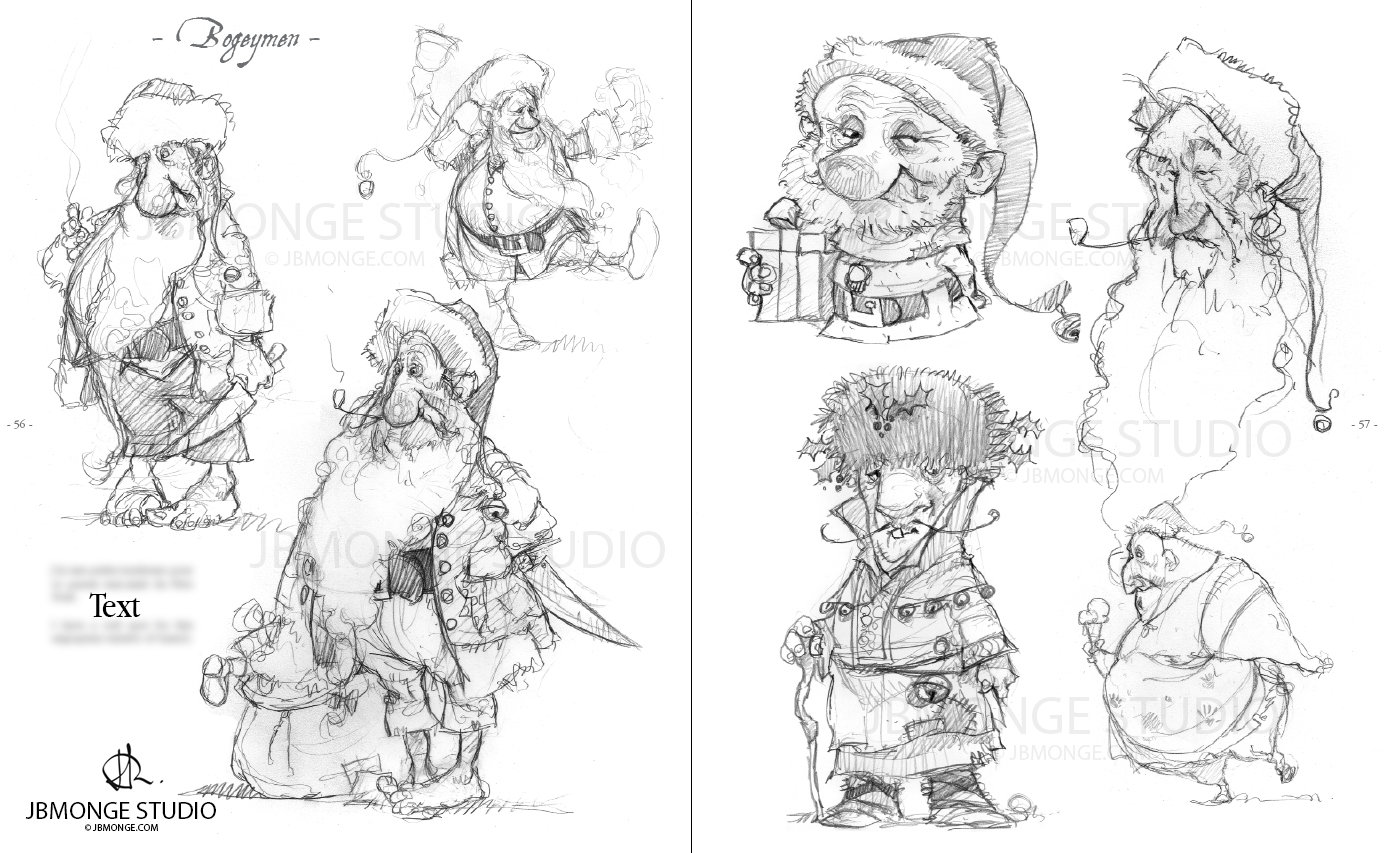 Sample4 - Sketchbook#1 July 2015 Pre-order it on https://www.etsy.com/ca/listing/235554113/pre-order-sketchbook-1-signed-and