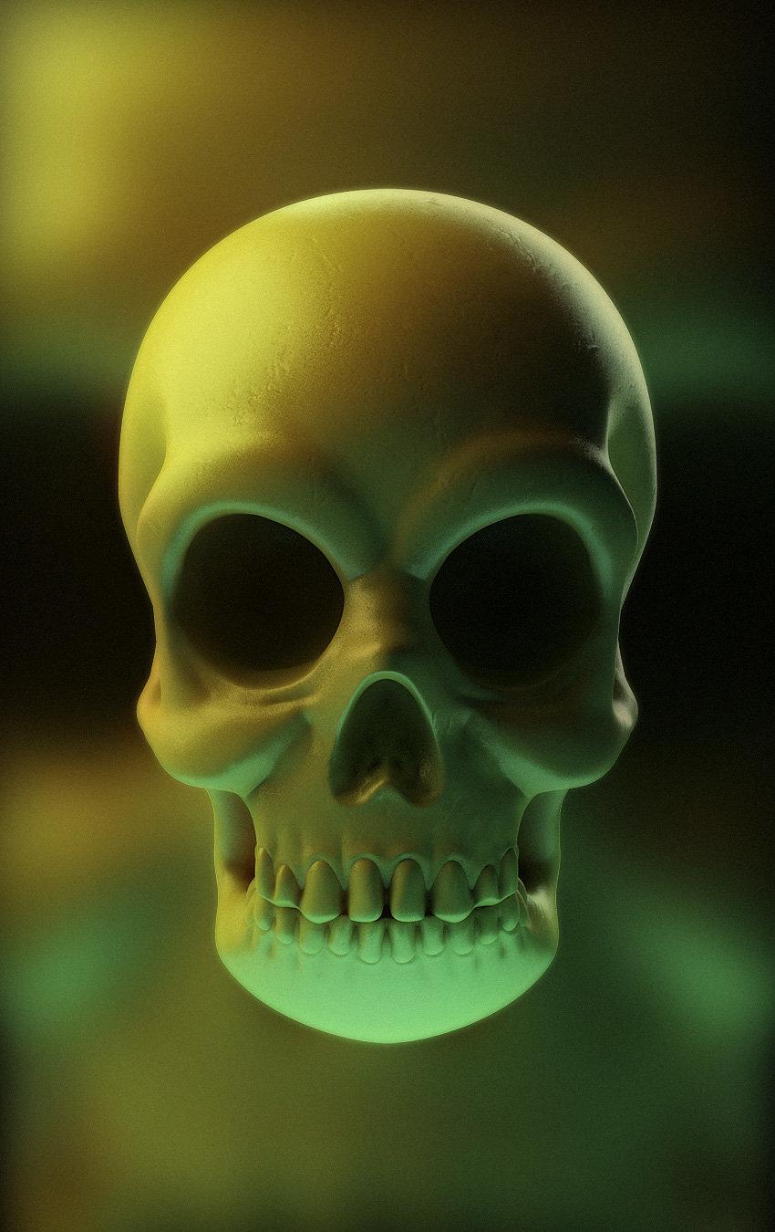 Mike robinson human skull