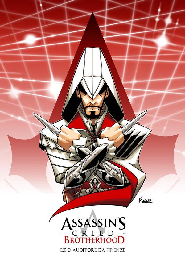 Artstation Ezio Auditore Assassins Creed Brotherhood