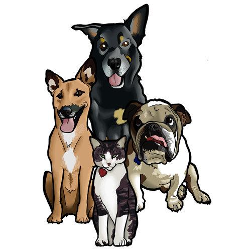 Steve rampton dogs logo