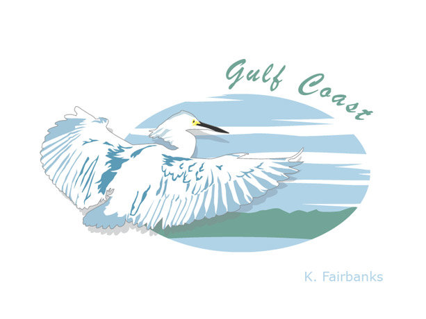 K fairbanks egretlogo by k fairbanks