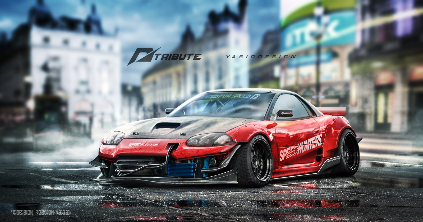 Speedhunters Mitsubishi 3000GT - Need for speed Tribute