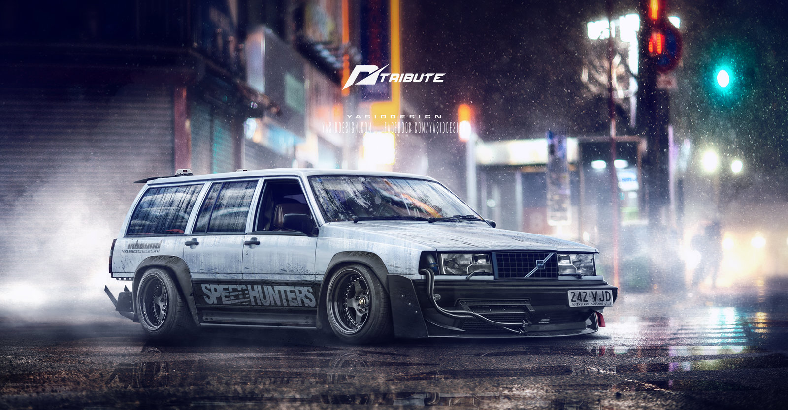 Speedhunters Volvo 940 - Need for speed tribute
