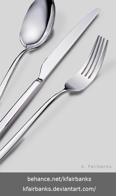 K fairbanks silverware by k fairbanks
