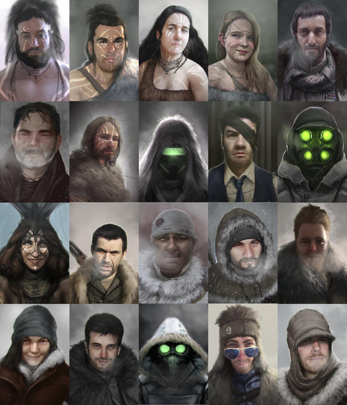 Characters Portraits
