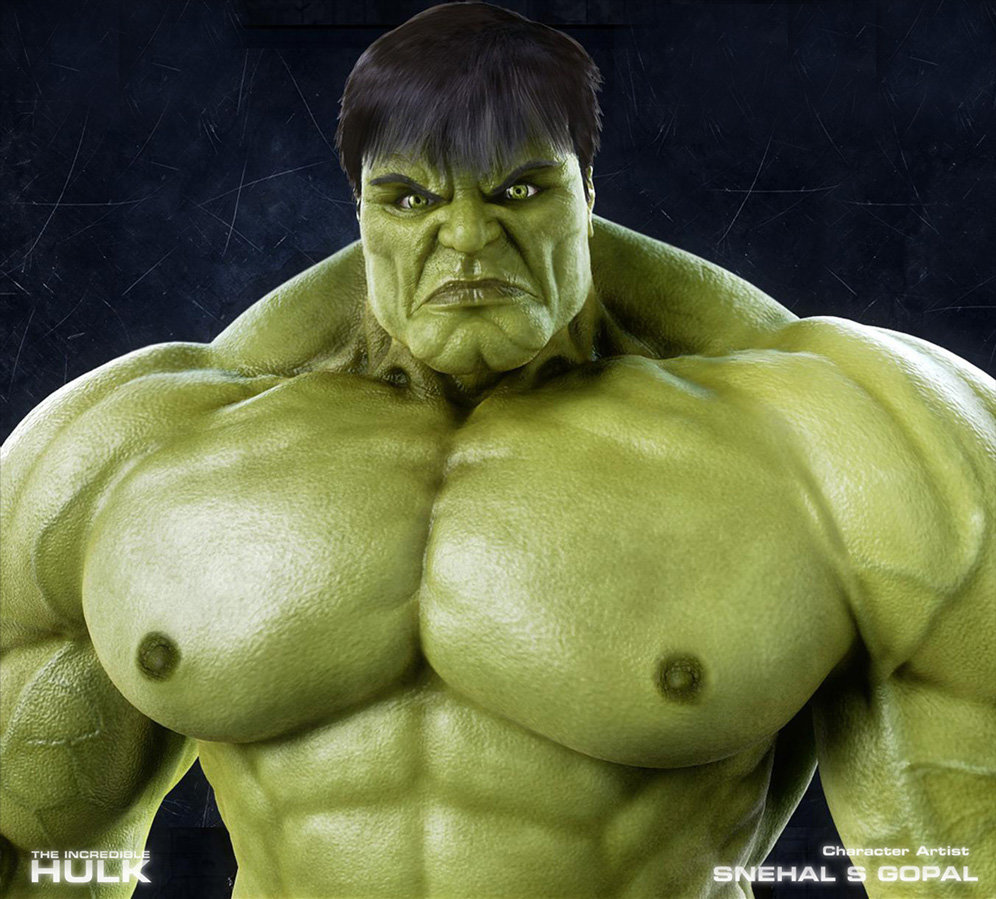 Snehal s gopal 04 hulk closeup