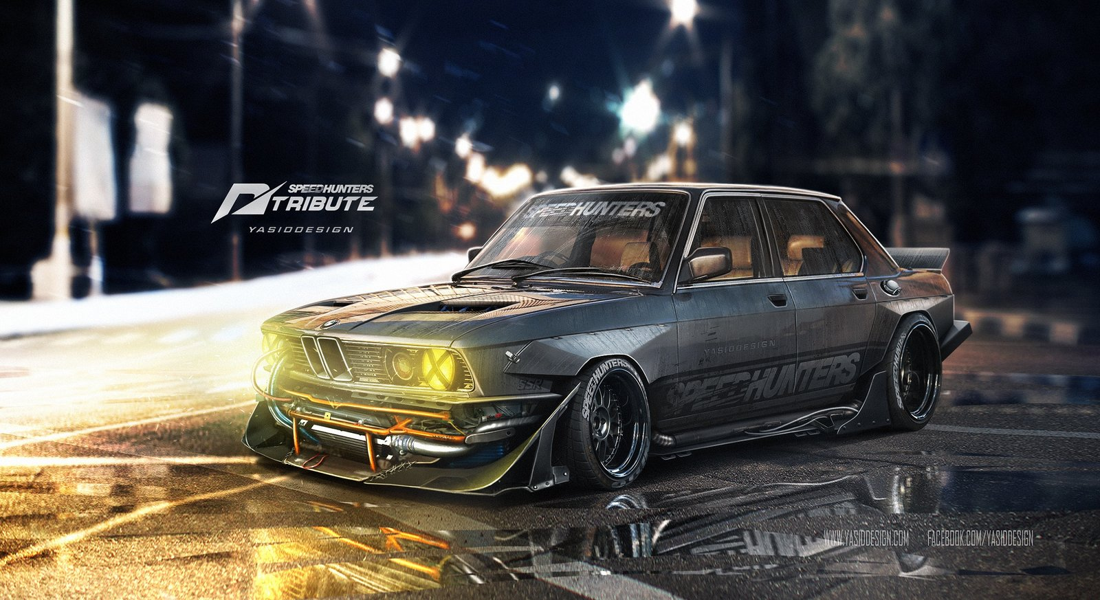 Speedhunters BMW 535i - Need for speed Tribute