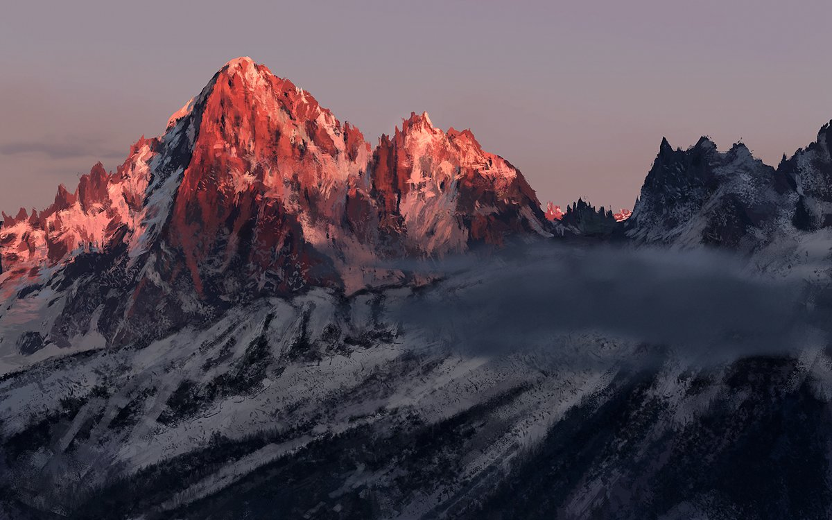Dmitry desyatov study mountains 140615