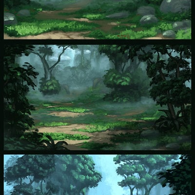 Travis lacey forest sketches travis lacey art