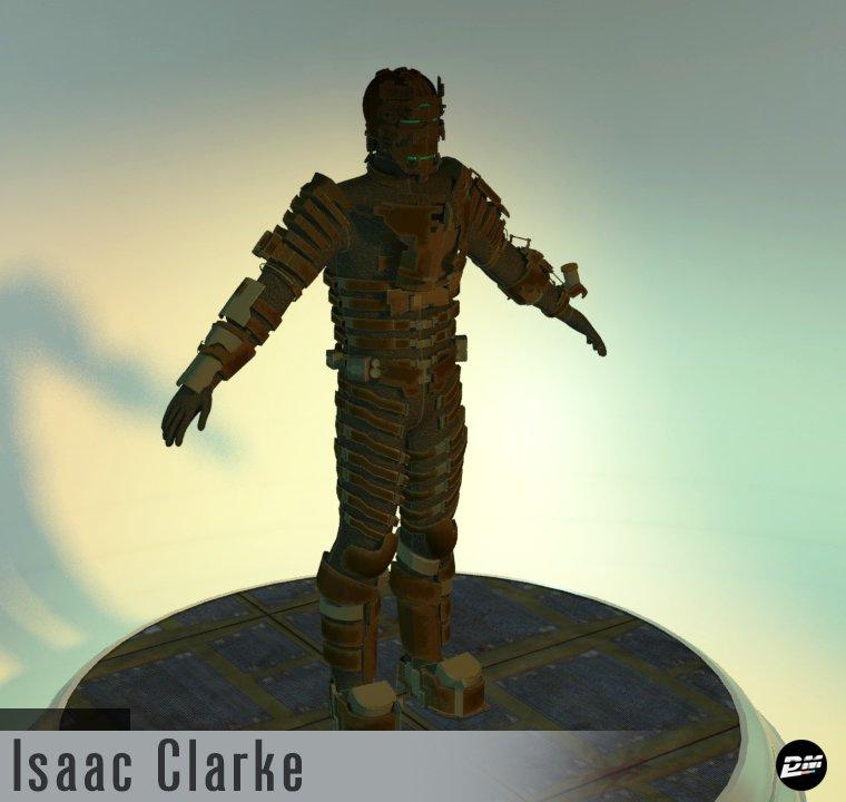 Isaac Clarke Level 5 Armor