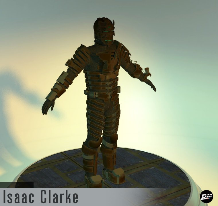 Isaac Clarke Level 5 Armor