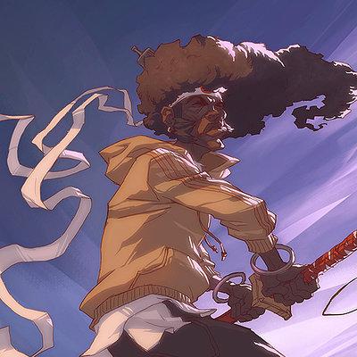 Harrison yinfaowei yo afro small