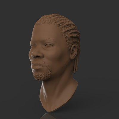 Jake hempson portrait sculpt 01