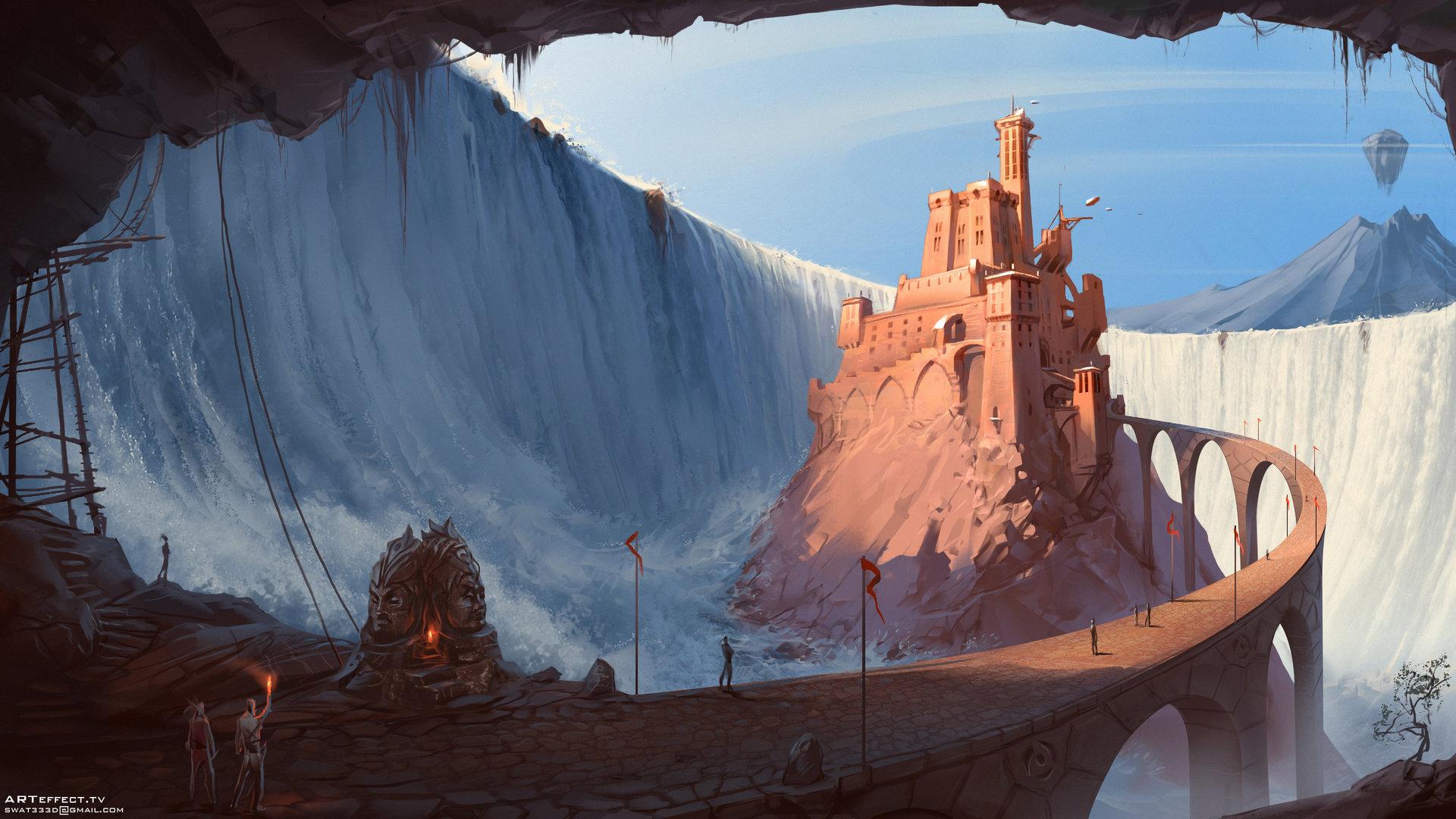 Sviatoslav gerasimchuk waterfall castle