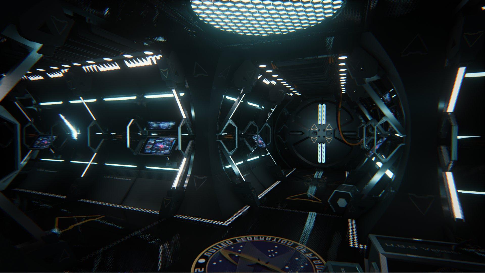 Lochlan Coull Star Trek U S S Vengeance Hallways