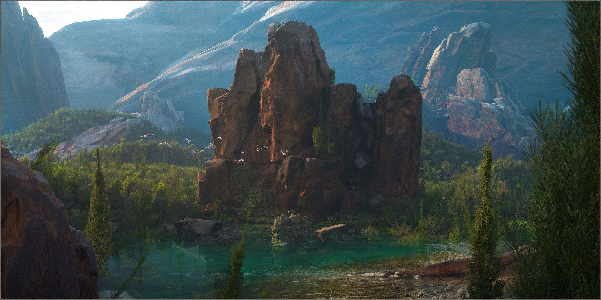Efflam mercier landscape