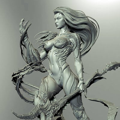 David giraud witchblade grey
