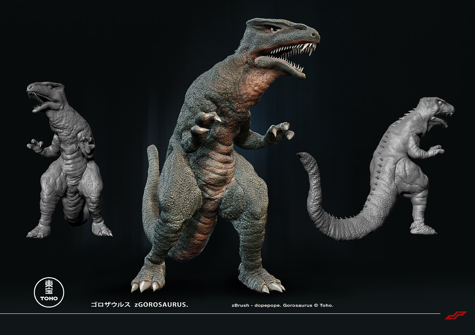 Dope pope zgorosaurus by dopepope d6tiw11