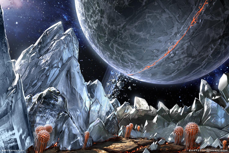 Sci-Fi Asteroid