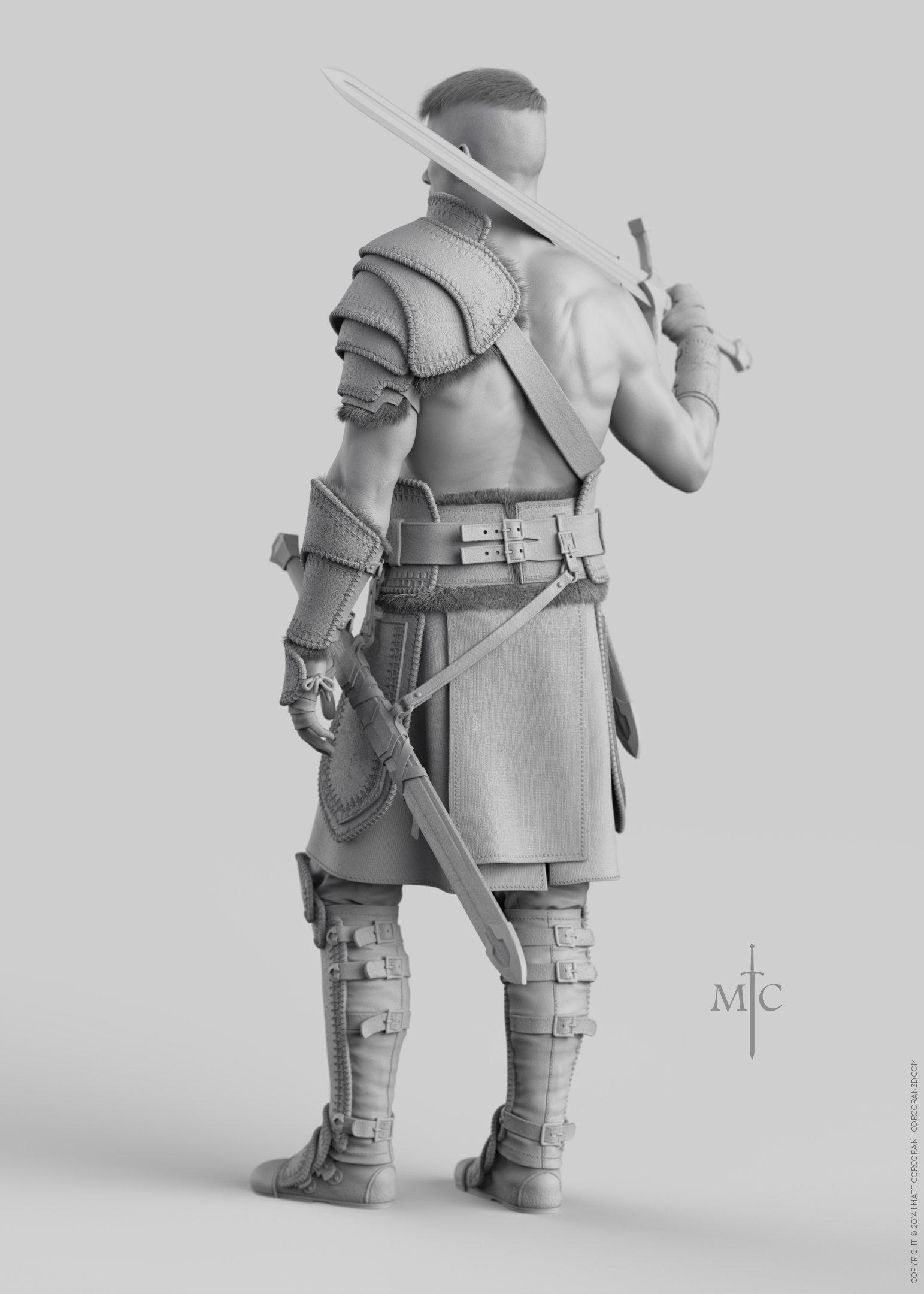 Matt corcoran mattcorcoran warrior grey 5x7 03