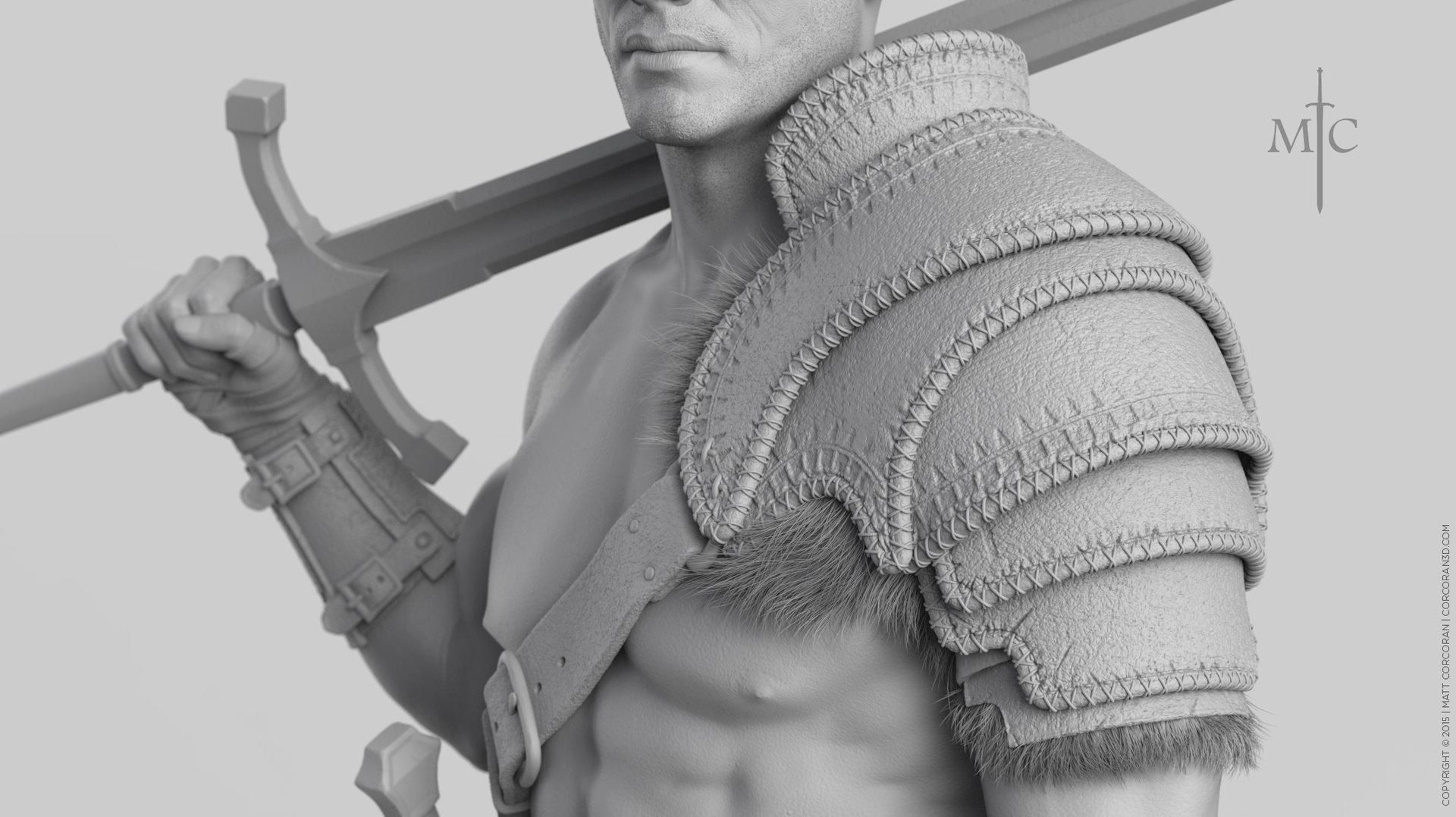 Matt corcoran mattcorcoran warrior grey 1k closeup 01