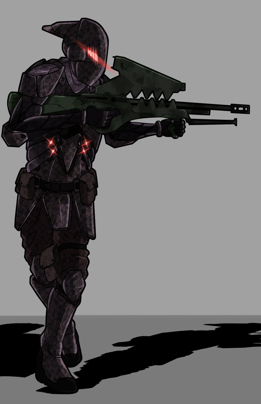 Cristian bruno gungirl concept armor
