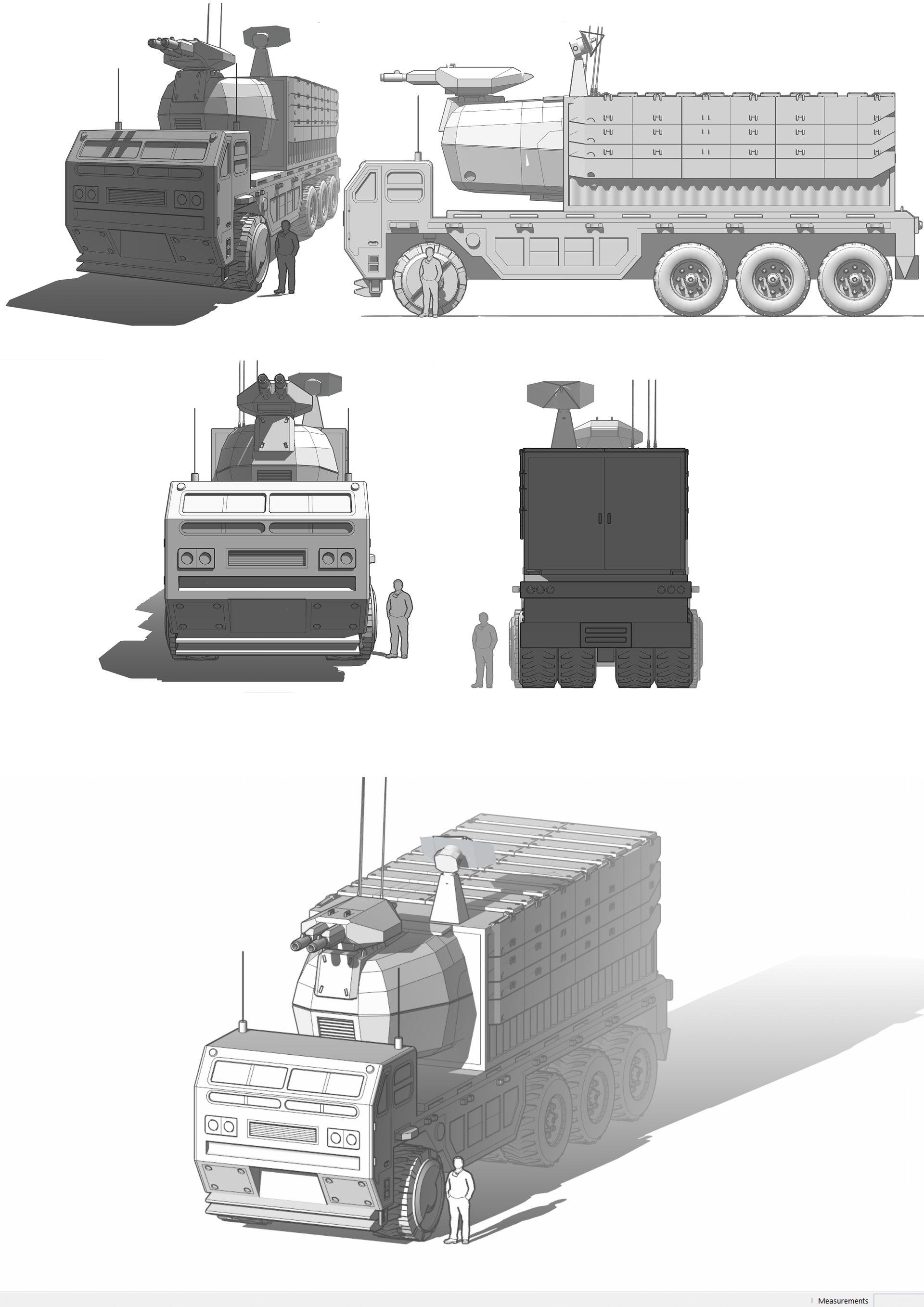 Cristian bruno argenide mobile comand truck