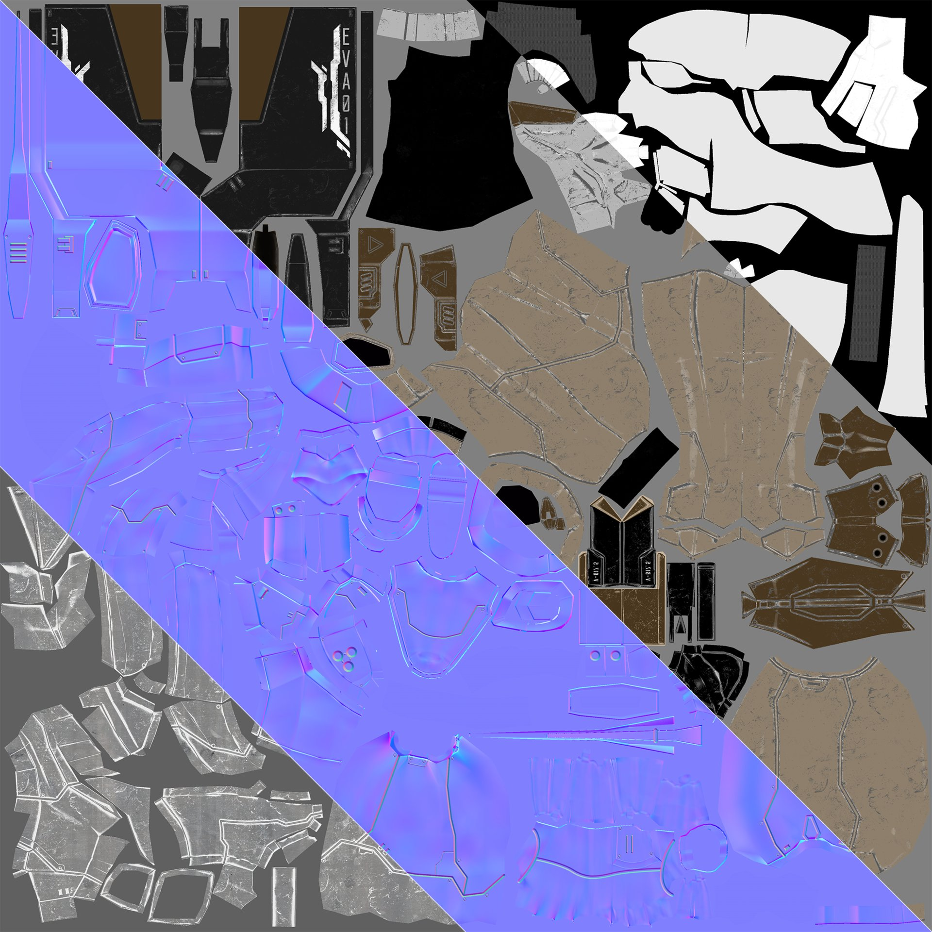 Johan sallstrom eva textures