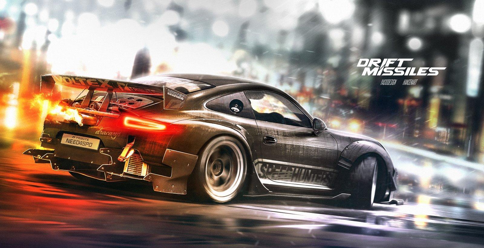 Speedhunter Porsche 911 Need for speed Tribute 1 variation 1