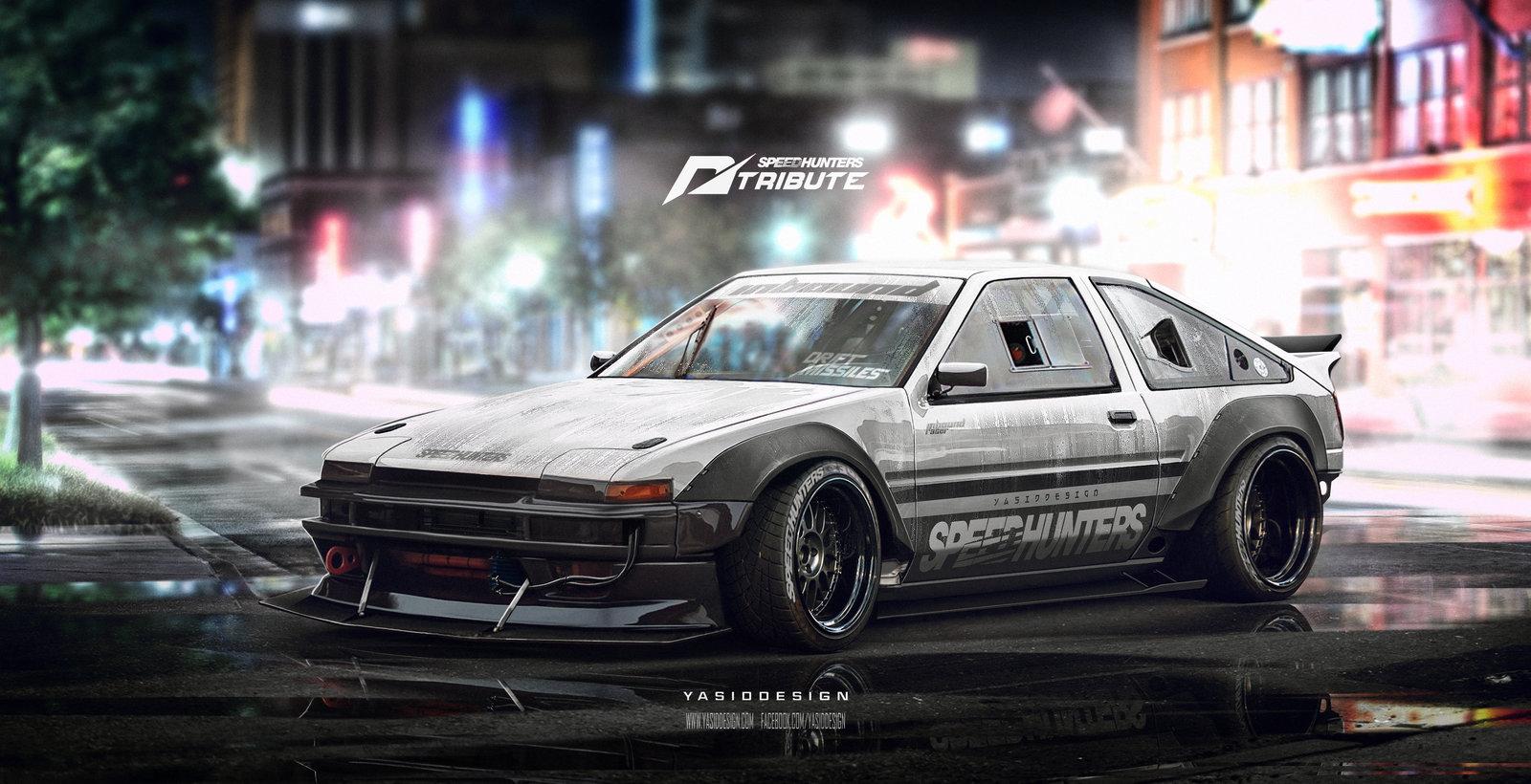 Speedhunters Need for speed tribute Ae86 trueno