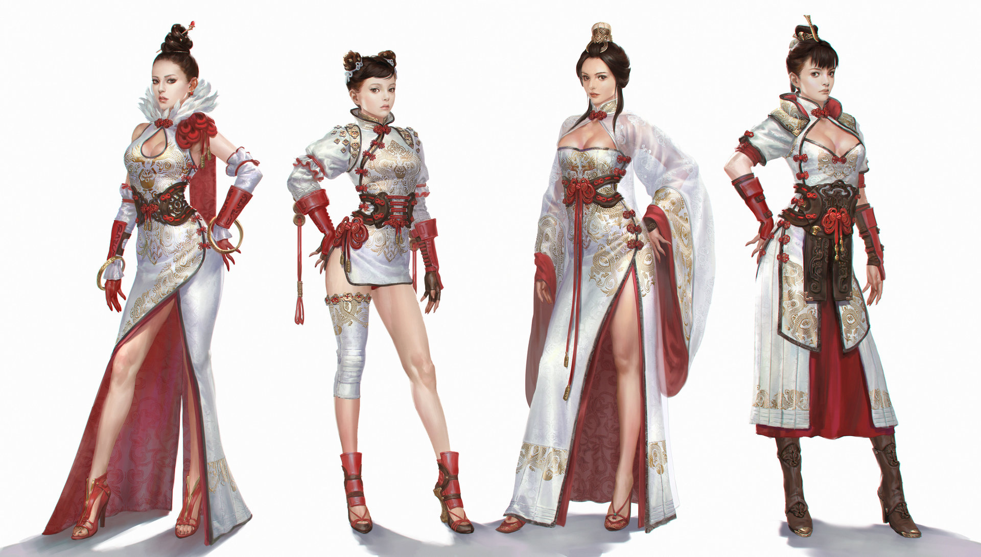 Character Analysis For Costume Design : Bluezima dong wook shin chang chun costumes