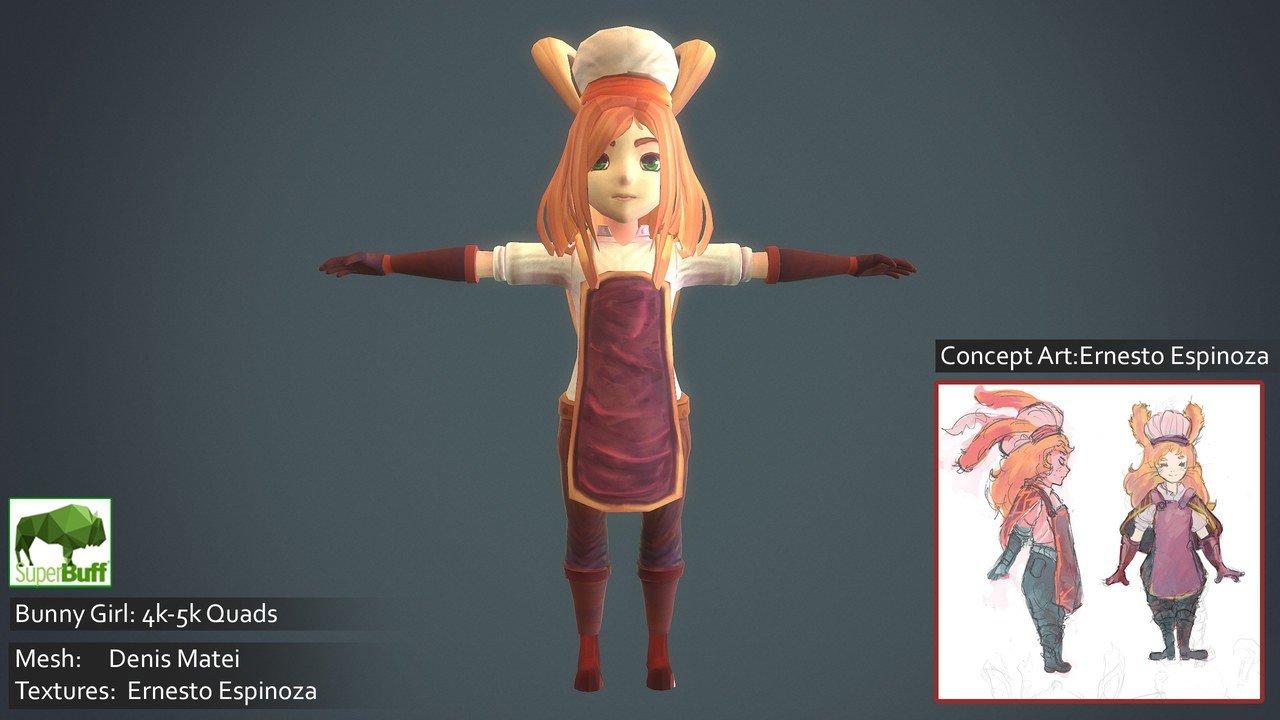 Bunny Girl Character
