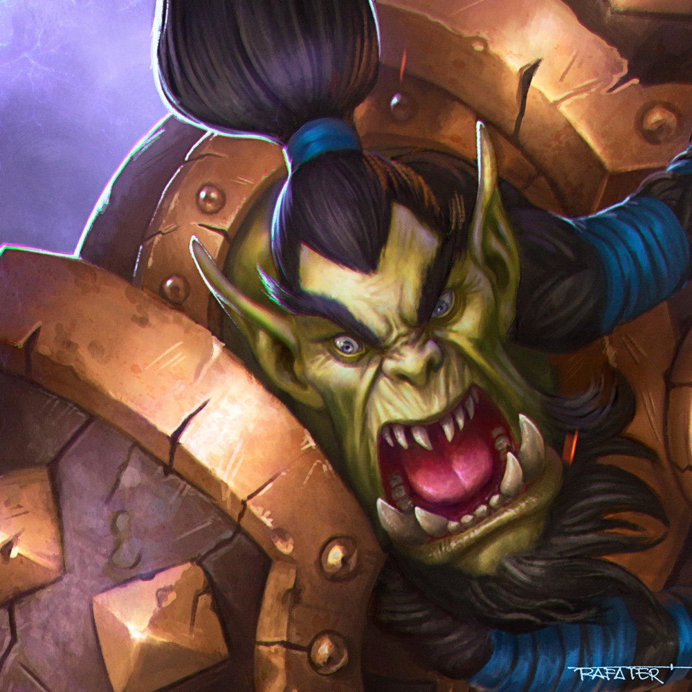 Rafael teruel heroes of the storm contest close up thrall raynor by rafater