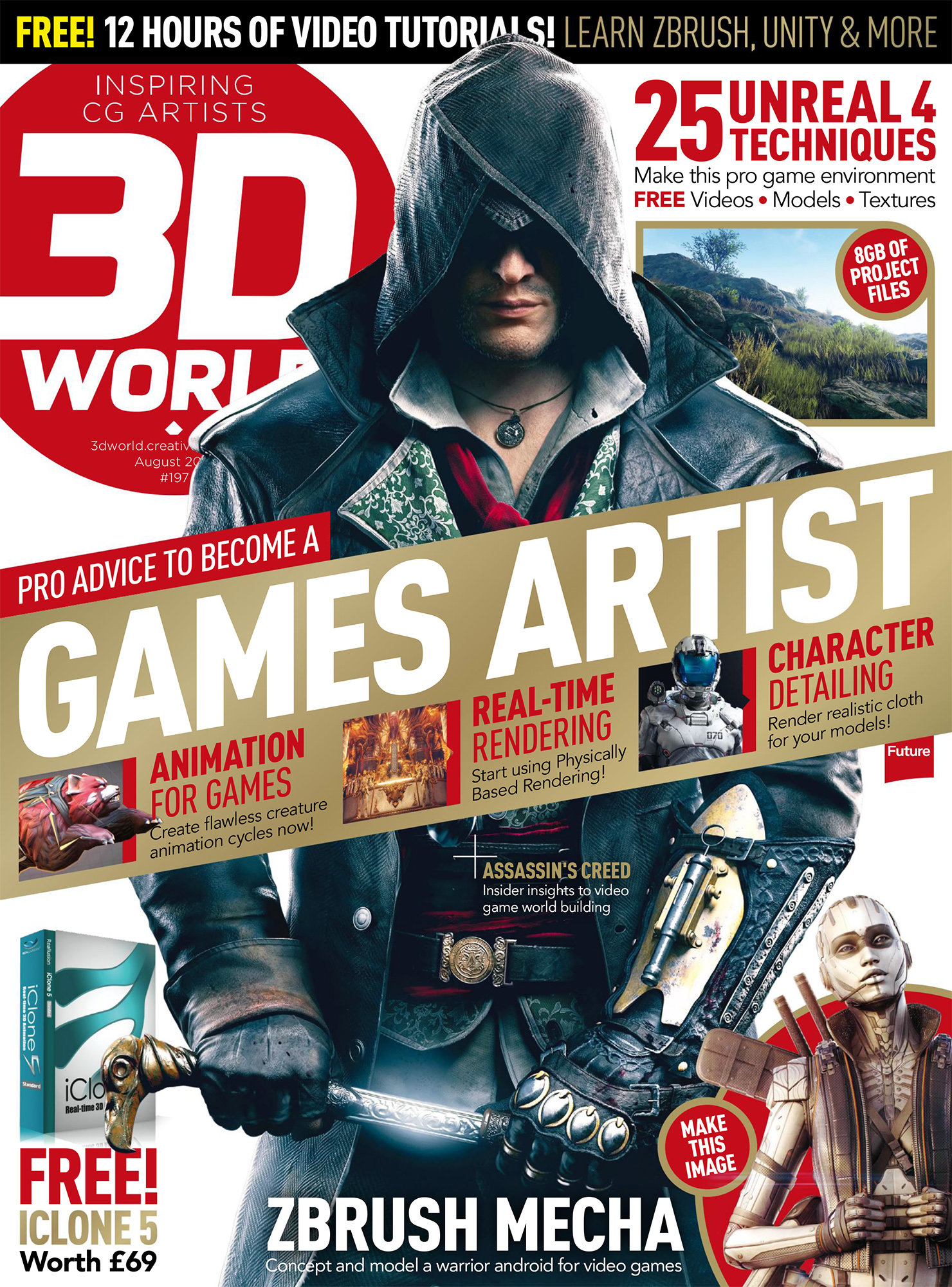 Riyahd cassiem 3d world august 2015 1