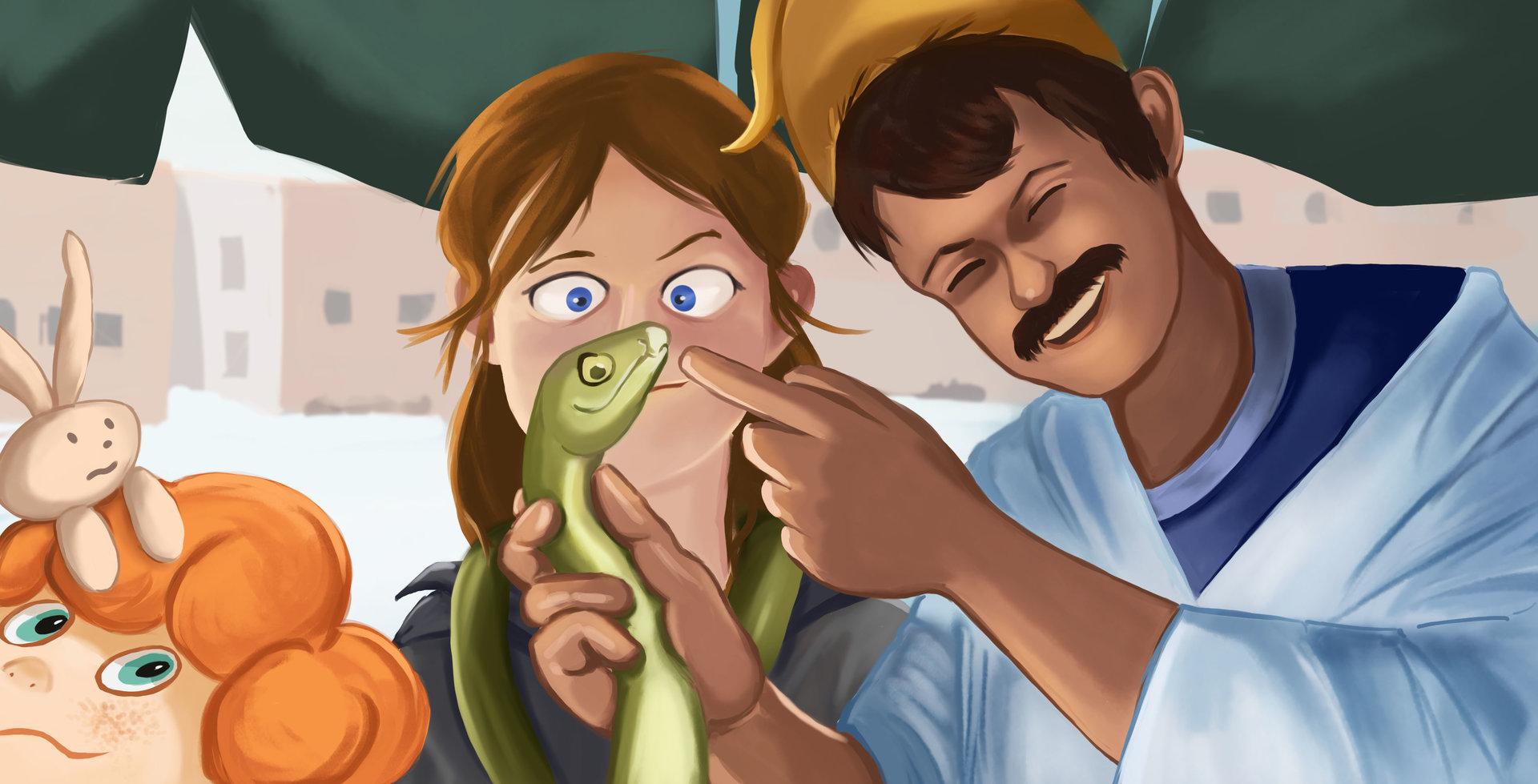 Valerie vay loetscher image 06 le dresseur de serpent