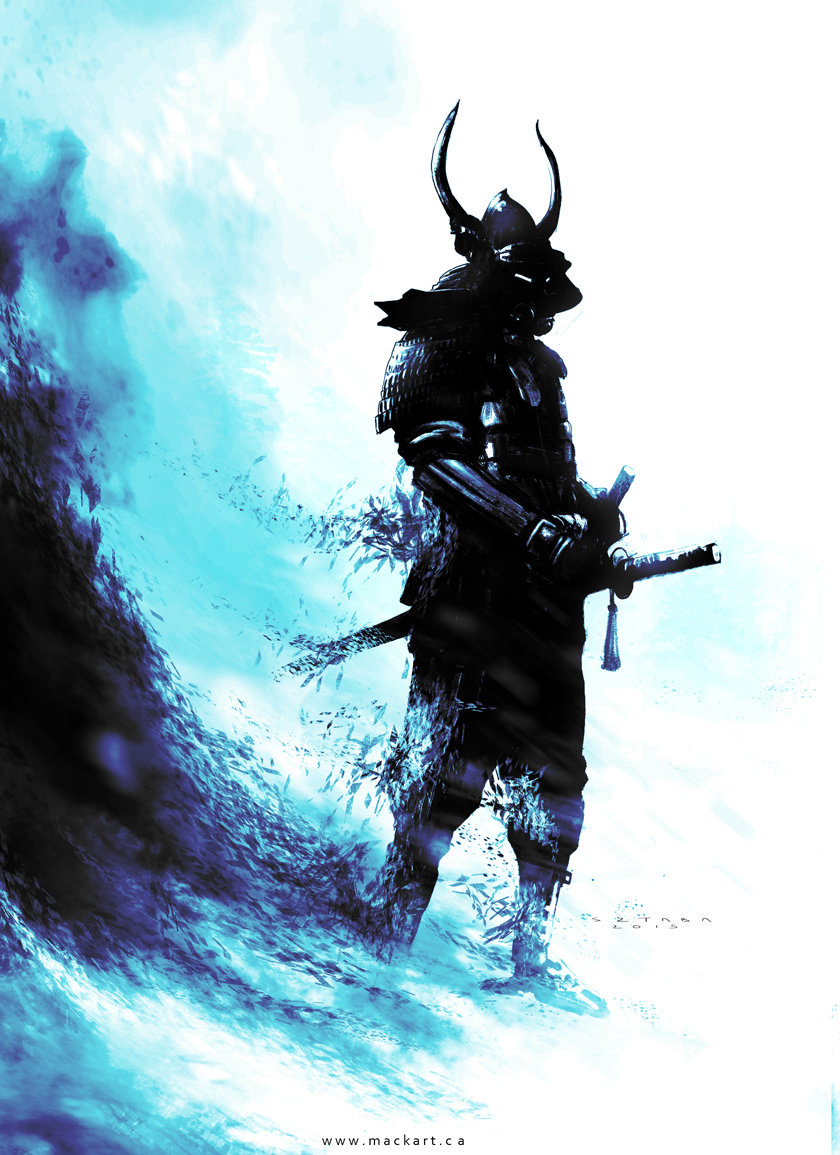 Mack sztaba samurai sketch 5