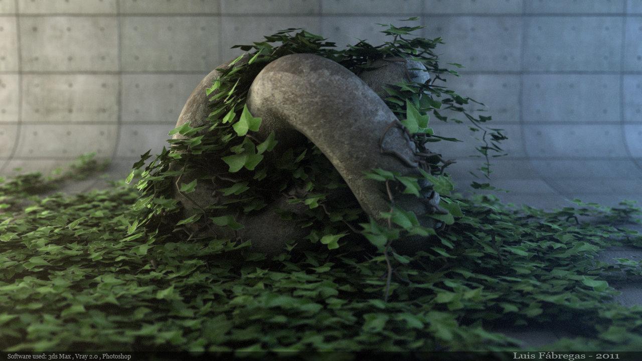 ArtStation - Ivy Generator Tutorial, Luis Fabregas