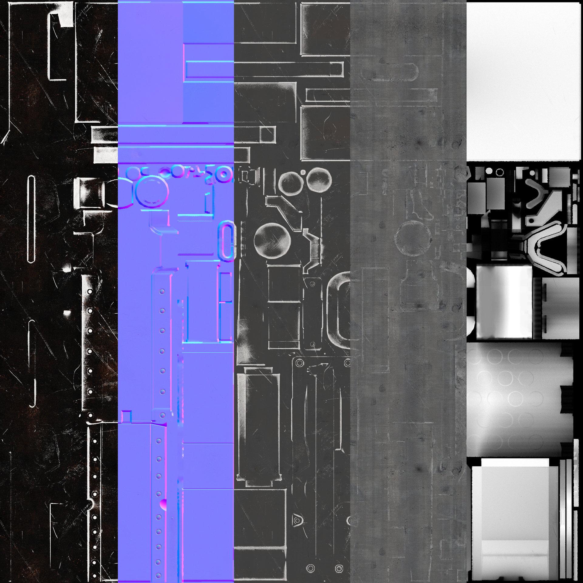 Xavier carton m2 texture presentation