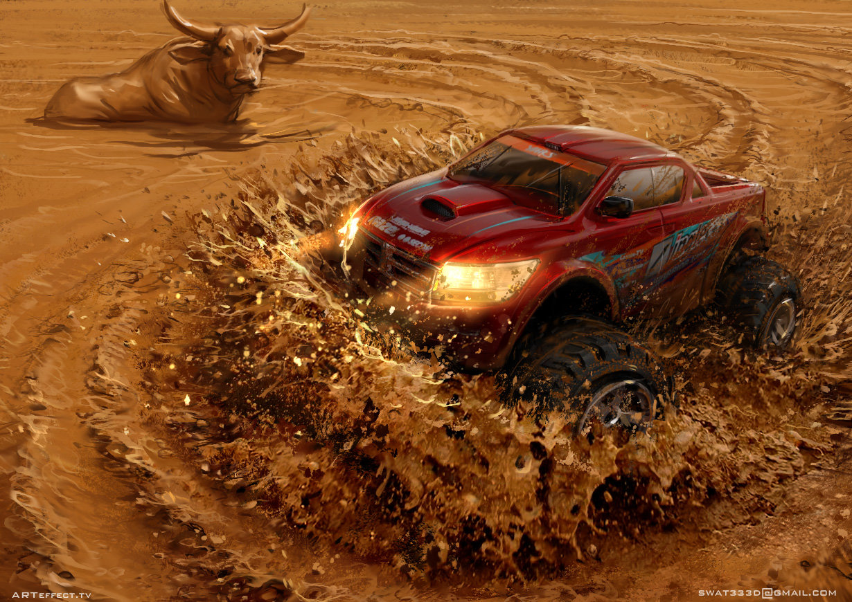 Sviatoslav gerasimchuk mud racing