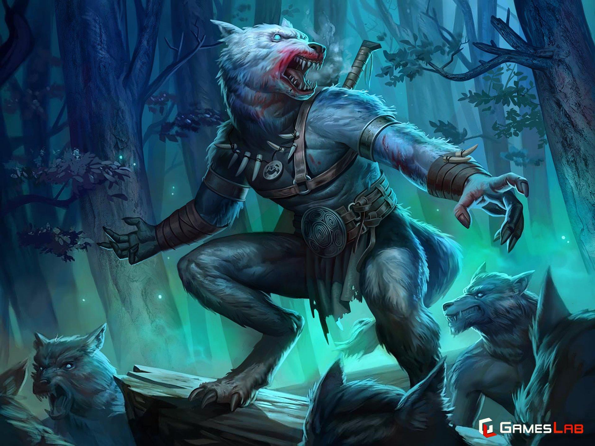 Ben hughes illustration werwolf 01