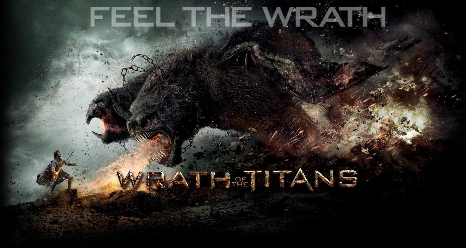 Paul gerrard wrath of the titans