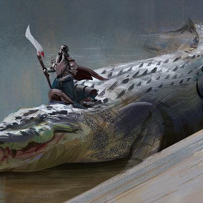 Hugo puzzuoli crocodile dundee