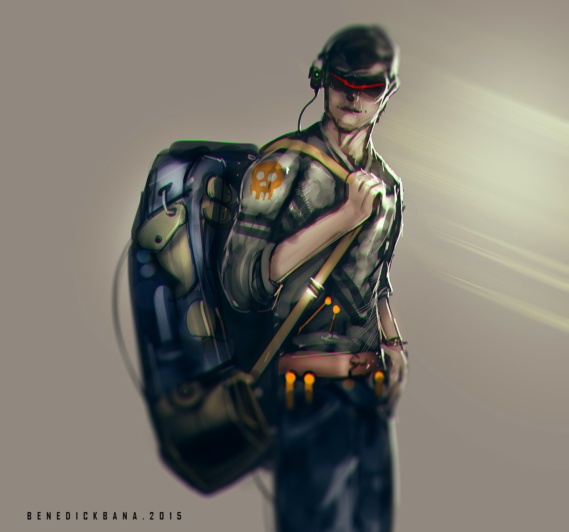 Benedick bana backpacker