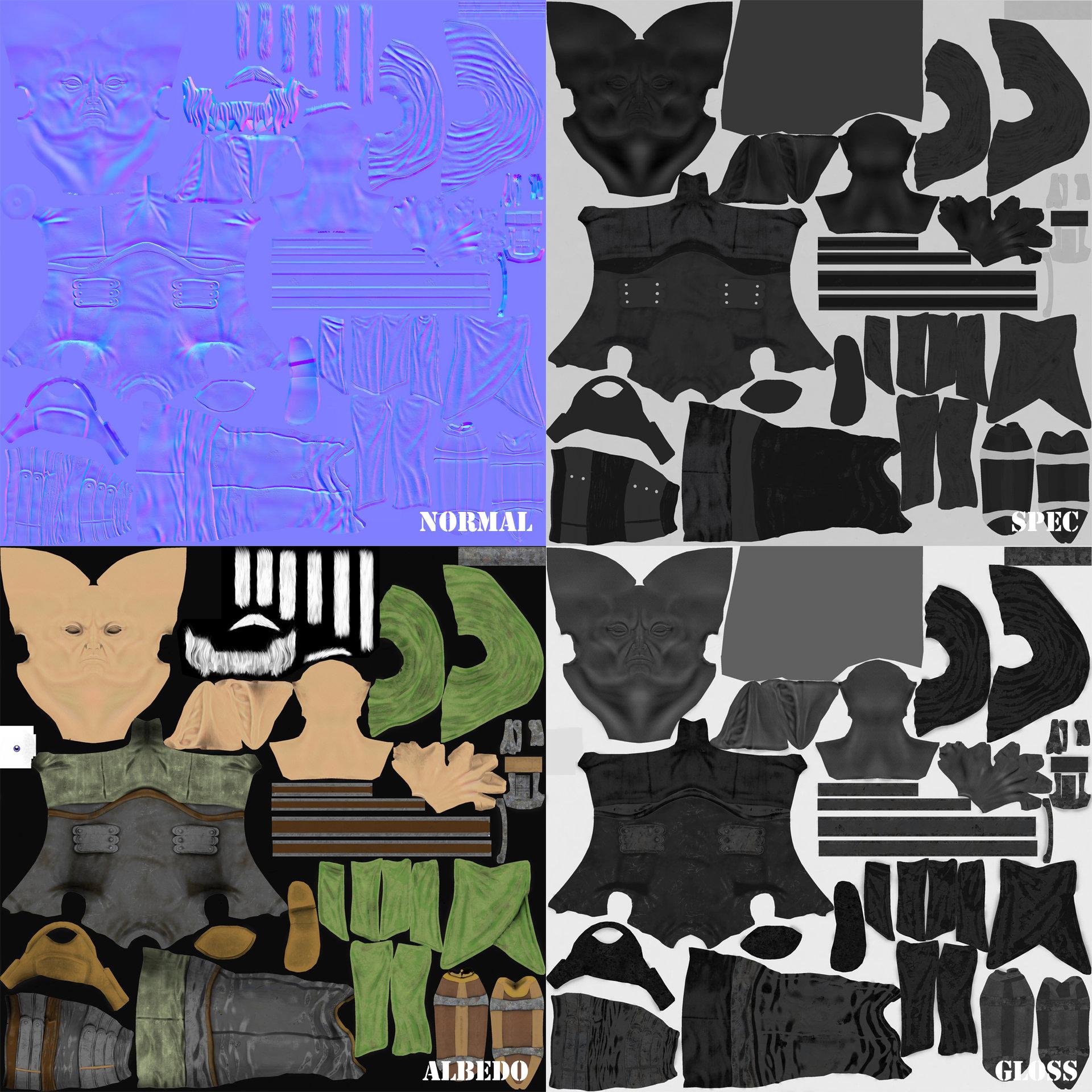 Assani duongsaa render texture