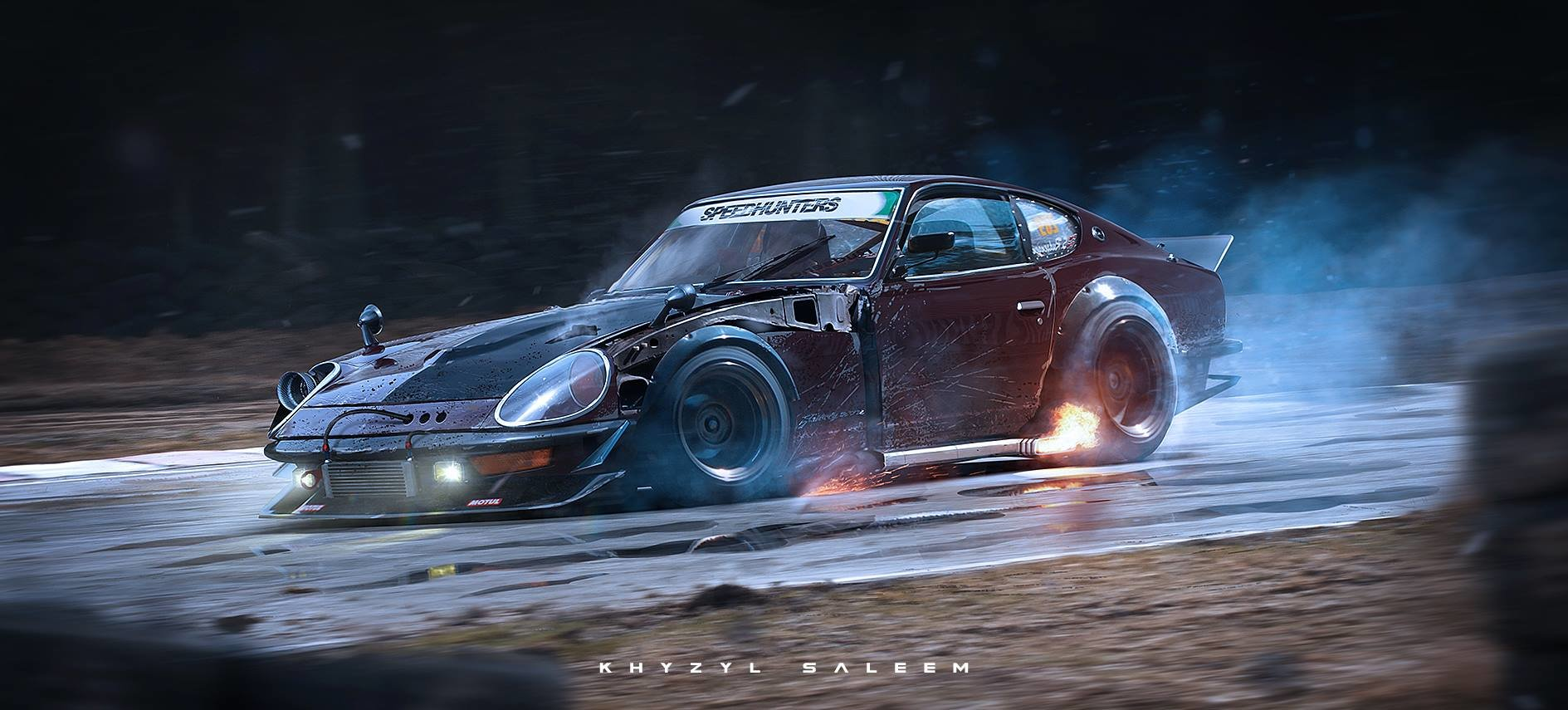 ArtStation - Gatebil 240z, Khyzyl Saleem