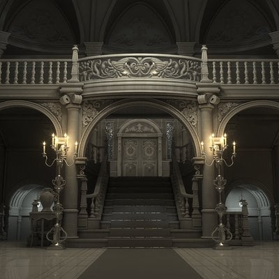 B o w qin mansion render render1200n